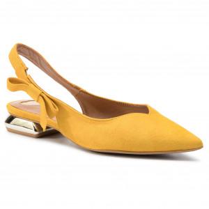 0f536a4e5e Sandále R.POLAŃSKI - 1017 Żółty Zamsz
