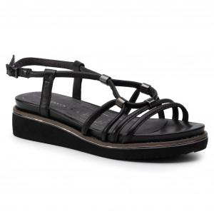 9f1f311b2091d Sandále TAMARIS 1-28213-22 Black Leather 003