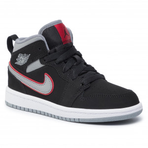 bfbcbc928 Topánky NIKE Jordan 1 Md (Ps) 640734 060 Black/Particle Grey/White