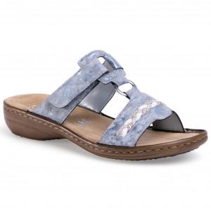 Sandals RIEKER V0271 80 Weiss