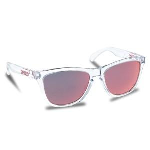 Slnečné okuliare OAKLEY Frogskins OO9013-A5 Crystal Clear Torch Iridium b6ce1ed6b0e