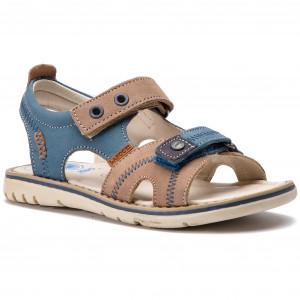 8eab87dc80adc Sandále COQUI - Fobee 8851 Grey/Yellow - Sandály - Šľapky a sandále ...