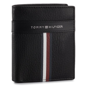 cc1eaccf35 Malá Pánska Peňaženka TOMMY HILFIGER - Corporate Leather Ns Trifold  AM0AM04812 002