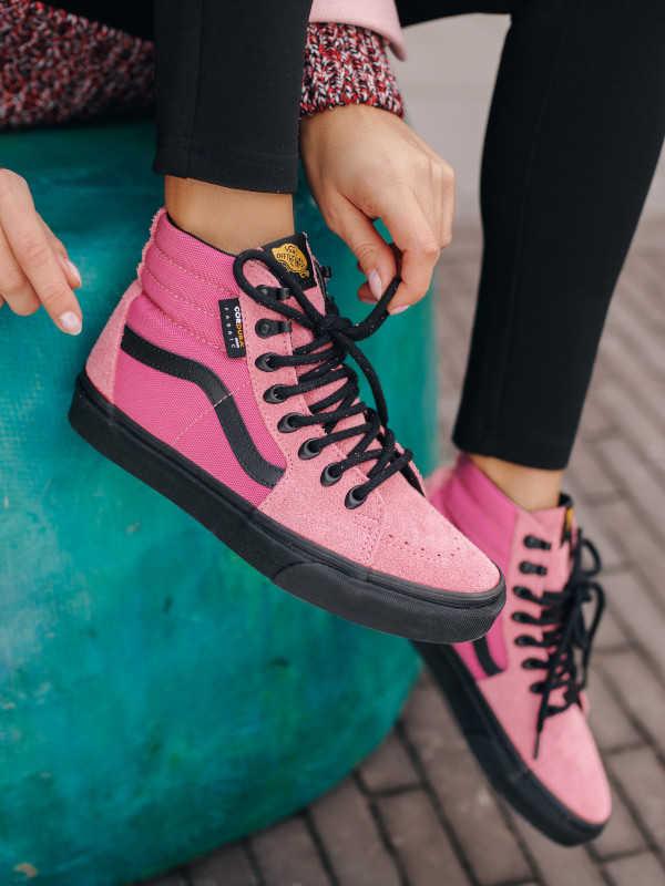 ružové topánky Vans